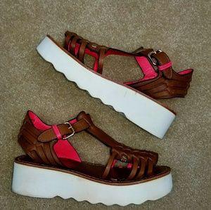 2b4b0390842 Shoes - COACH PUTNAM WOMEN S PLATFORM SANDAL Size 6.5